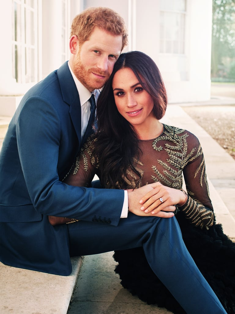 Harry and Meghan's Engagement Photo