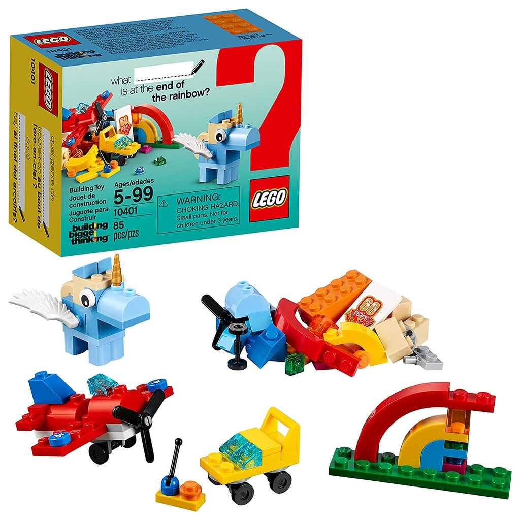 For 5-Year-Olds: Lego Classic Rainbow Fun Building Kit