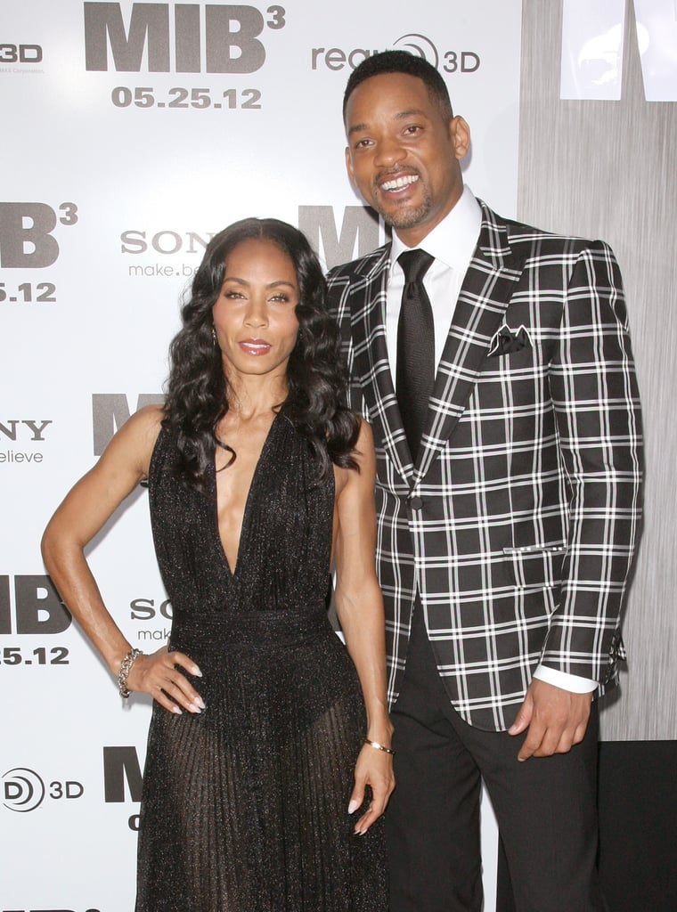 Will Smith and Jada Pinkett-Smith posed together at the Men in Black III premiere in NYC.