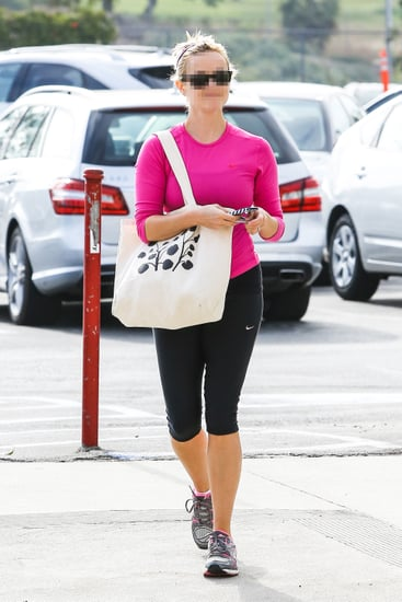 Which Celebrity Was Snapped on Her Way to a Workout?
