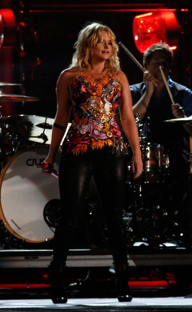 Miranda Lambert was on stage in Nashville.