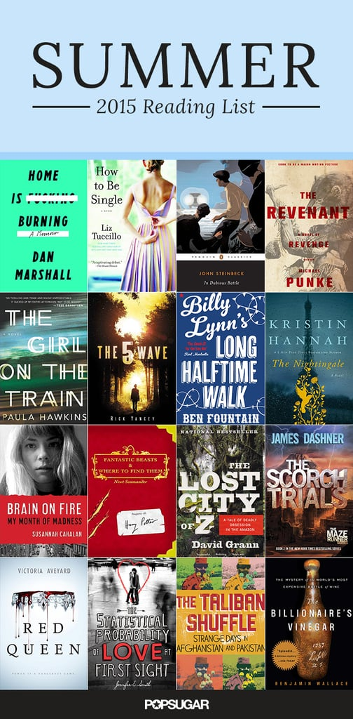 Summer Reading List: 60+ Books That Are Becoming Movies