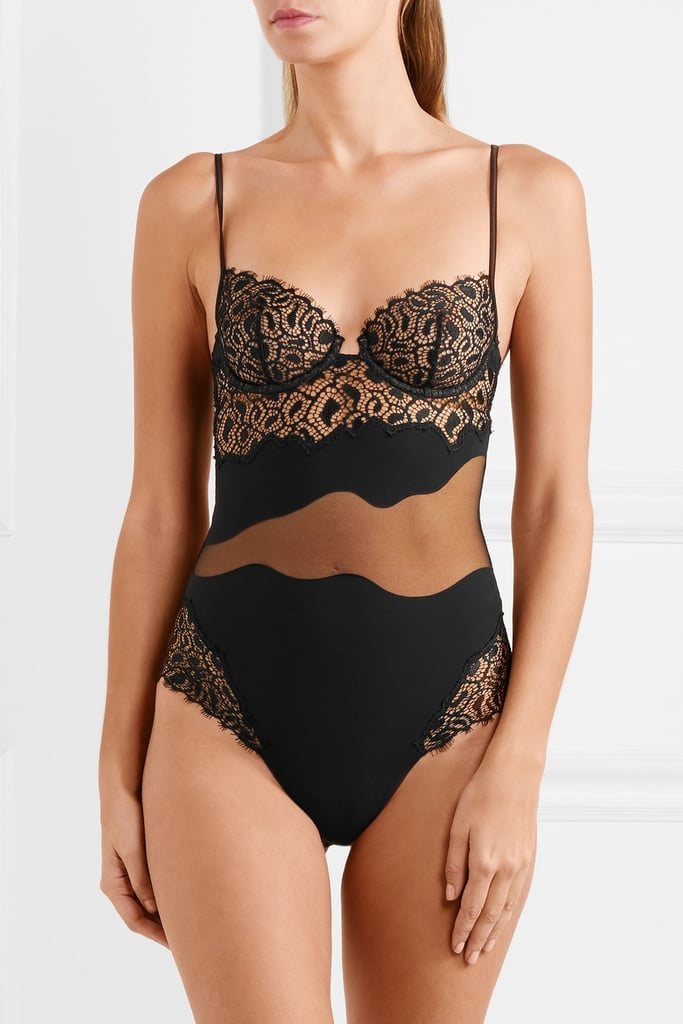 La Perla Quartz Garden Underwired Bodysuit