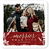 Brushed Boundary Holiday Card from tinyprints ($1-$3 per card)