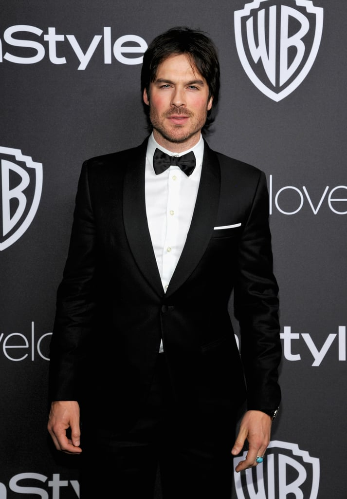 Ian Somerhalder and Nikki Reed Skip the Golden Globes and Head Straight For the Party