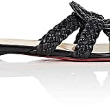 Christian Louboutin Leather Slide Sandals