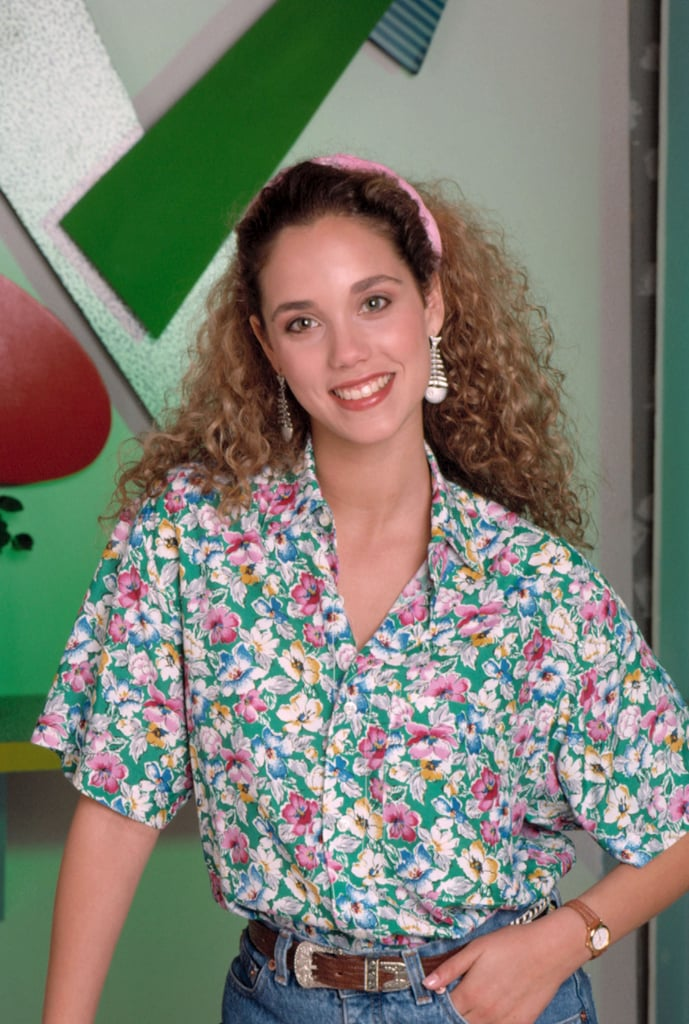 Elizabeth Berkley as Jessie Spano | Saved by the Bell ...