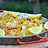 Easy Scallop Paella