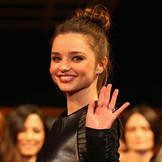 Miranda Kerr, Jessica Gomes on the David Jones AW 13 Runway