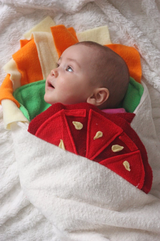 Funny Kids Halloween Costumes.A Baby Burrito Funny Kids Halloween Costumes Popsugar