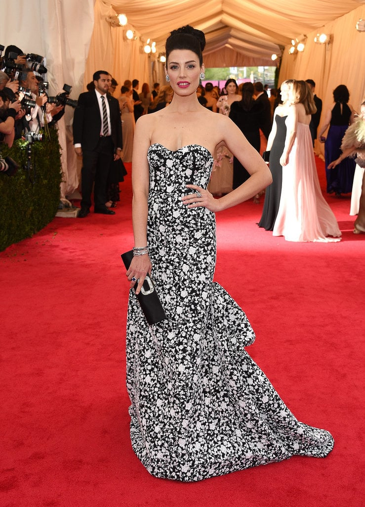 Jessica Pare at the 2014 Met Gala