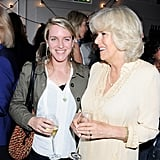 Laura Lopes and the Duchess of Cornwall (2012)