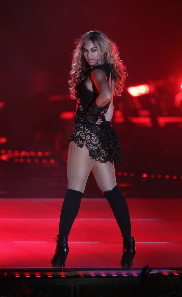 She caused a stir during her Super Bowl Halftime Show performance in February 2013, especially when the lights went out just after she left the stage.
