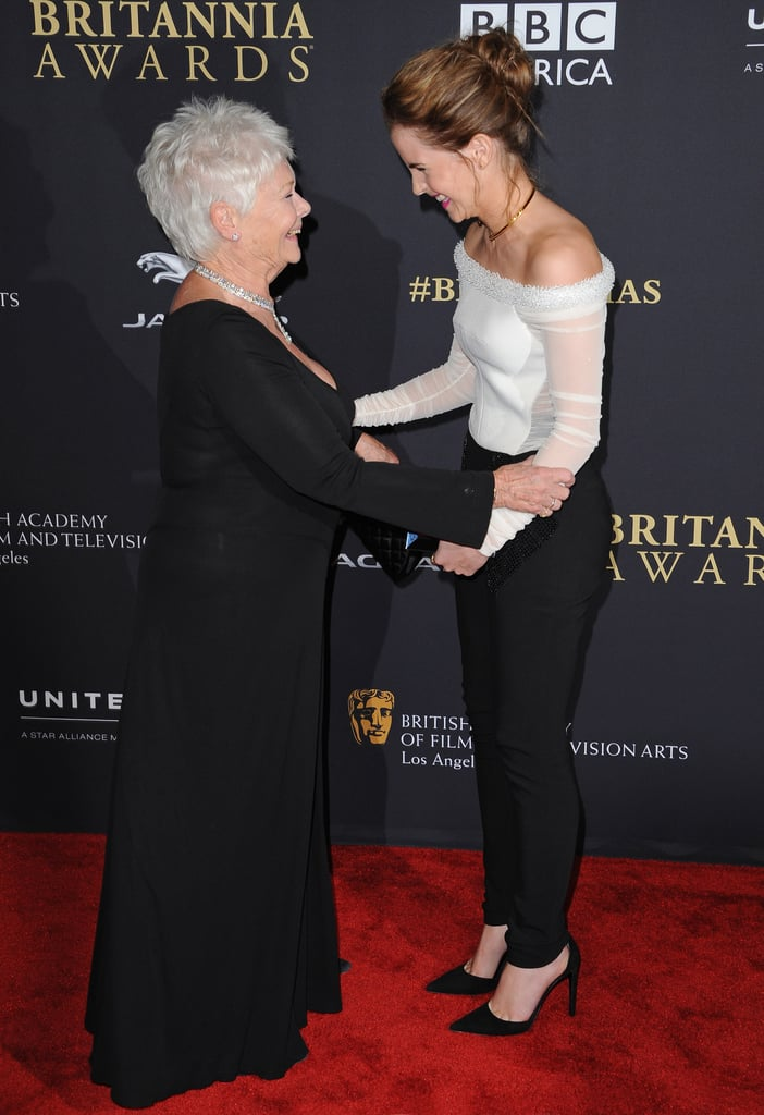 """Judi Dench was like, """"I've been a fan for YEARS."""""""