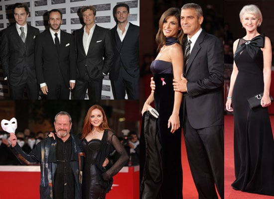 Photos of London Film Festival and Rome Film Festival
