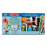 Melissa & Doug Deluxe Cleaning & Laundry Play Set