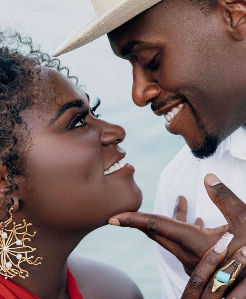 """While Danielle Brooks and fiancé Dennis Gelin may have kept their romance somewhat private over the years, we've loved the rare glimpses we've gotten of the couple's love. On Nov. 16, 2019, the duo welcomed a baby girl named Freeya into the world. Danielle later announced the duo's engagement in January 2020, after a New Year's Eve proposal, calling Dennis her """"best friend"""" in the caption. Most recently, Danielle shared the pair's stunning engagement photos by Kareem Virgo and is currently working with D'Concierge to plan their wedding. Ahead of their impending nuptials, you can check out some of the couple's cutest pics ahead.       Related:                                                                                                           Danielle Brooks and Dennis Gelin Didn't Hold Back in These Sexy Engagement Photos"""