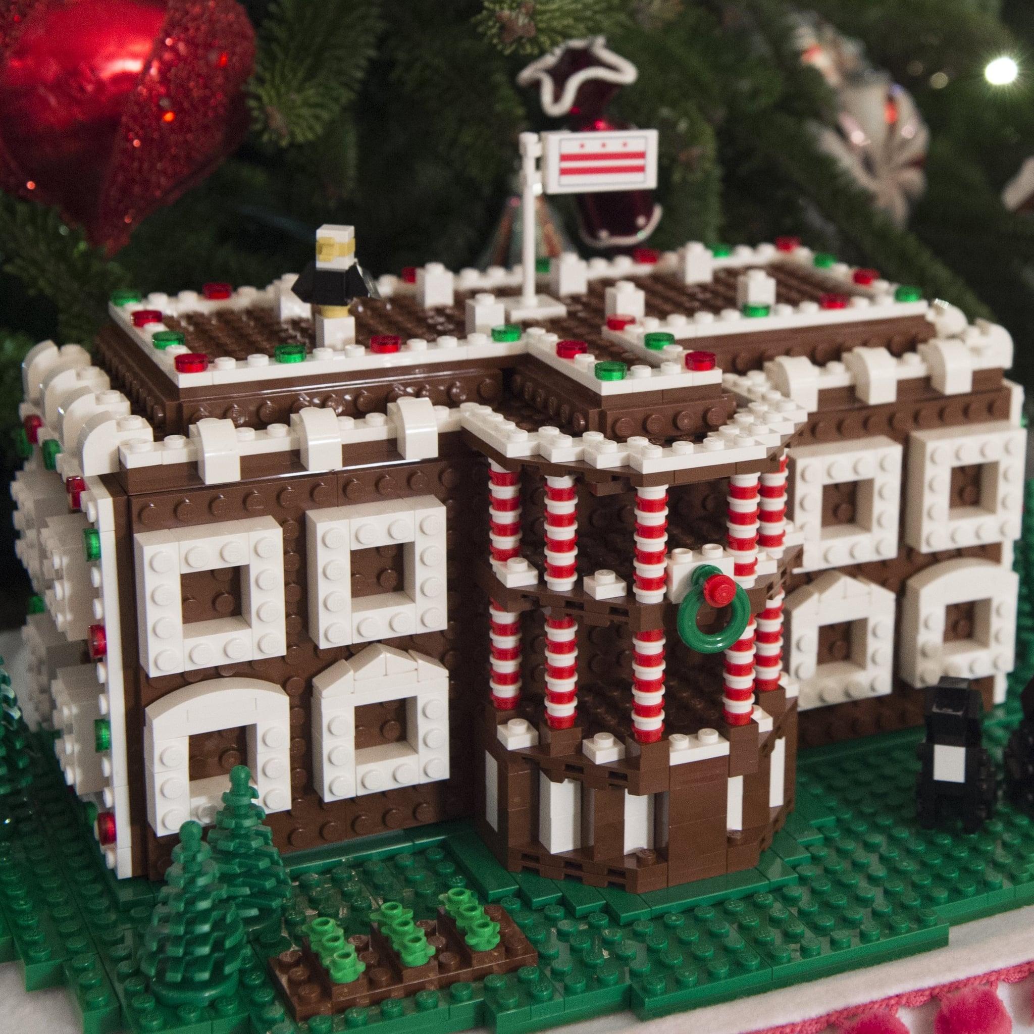 White House Christmas Decorations 2016 (Video) | POPSUGAR Celebrity