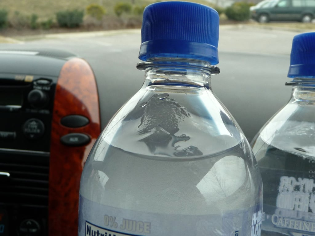 Freeze Your Liquids to Bring on Planes