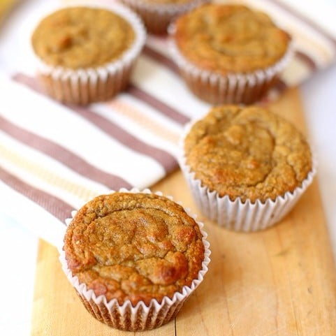 Paleo Banana Blender Muffins
