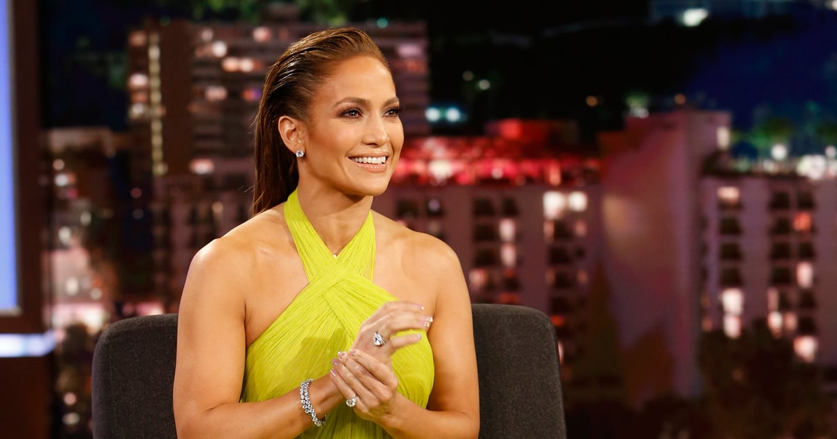 Just When I Thought J Lo's Star Couldn't Shine Any Brighter, She Throws On This Bright Green Gown