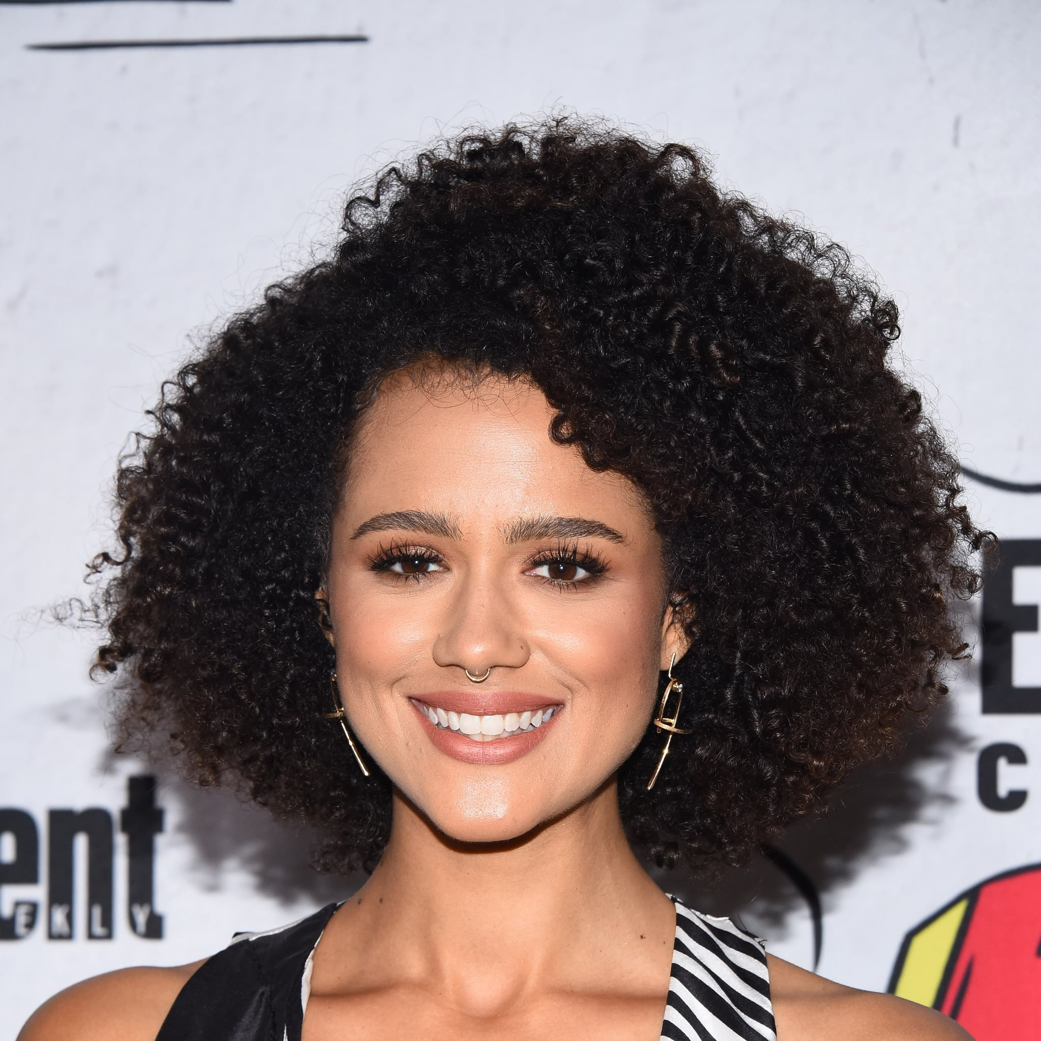 nathalie emmanuel posts makeup-free selfie | popsugar beauty uk