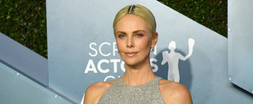Charlize Theron Hair at the SAG Awards 2020