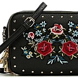 Aldo Embroidery And Studs Detail Purse