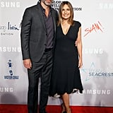Peter Hermann and Mariska Hargitay at Samsung Charity Gala