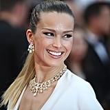 Petra Nemcová Wearing Chopard Jewels