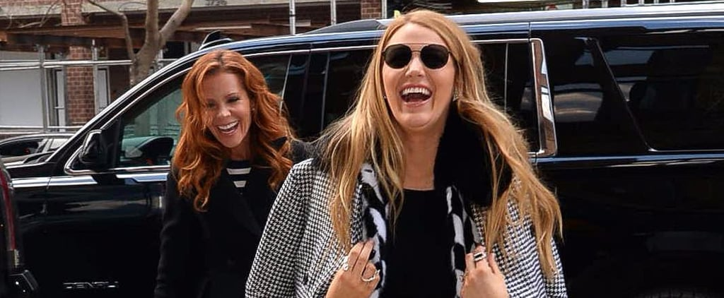 Blake Lively and Sister Robyn Have a Case of the Giggles While Walking Through NYC