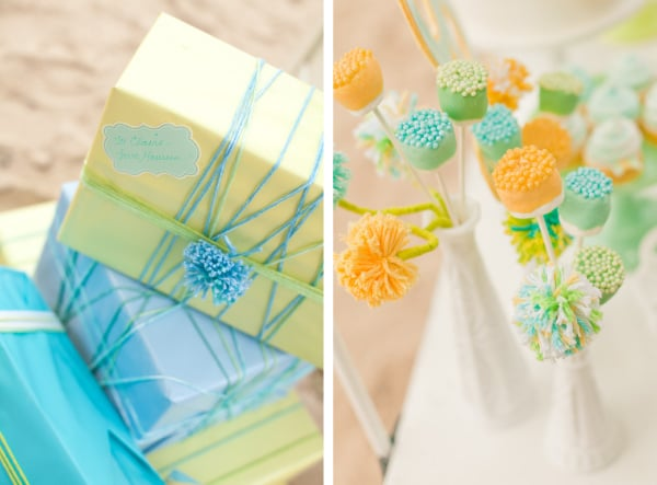 Gifts and Marshmallow Pops