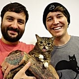 The founder of the United States' first cat cafe met Lil Bub at the con.