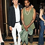 Kanye West met up with Stefano Tonchi. Source: Jason Merritt/BFAnyc.com