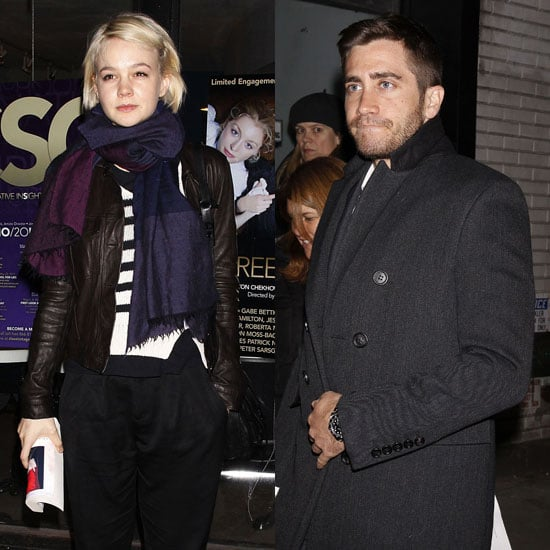 Pictures of Jake Gyllenhaal and Carey Mulligan at Maggie Gyllenhaal's Three Sisters Opening