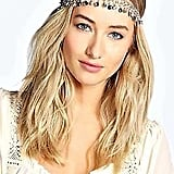 Boohoos Womens Miranda Jewel Drop Headchain