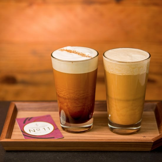 Starbucks Nitro Chai and Cascara Cloud