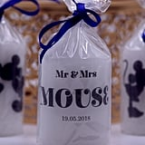 Mr. and Mrs. Mouse Candle Wedding Favor