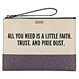 Pixie Dust Canvas Glitter Clutch by Kate Spade New York