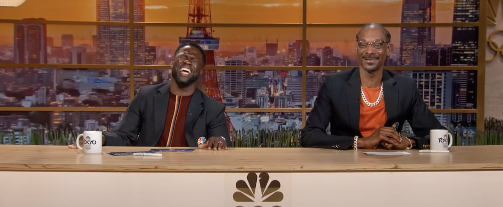Kevin Hart and Snoop Dogg Hilariously Commentate on Olympics