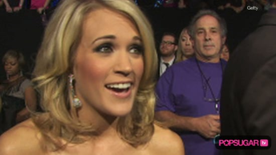 Carrie Underwood Wedding and Peoples Choice Awards 2010