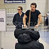Diane and Josh Leave LAX
