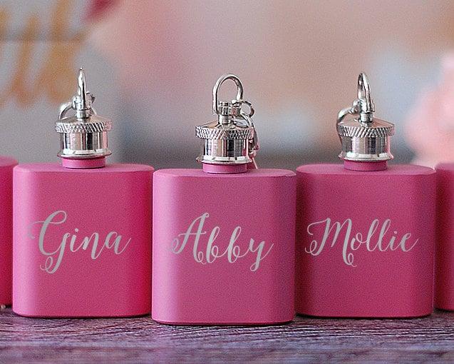 Mini Personalized Flasks ($6)
