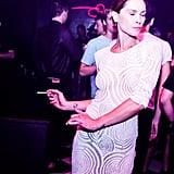 Erin Wasson at Riccardo Tisci's International CFDA Award Celebration in New York. Photo: David X PruttingBFAnyc.com