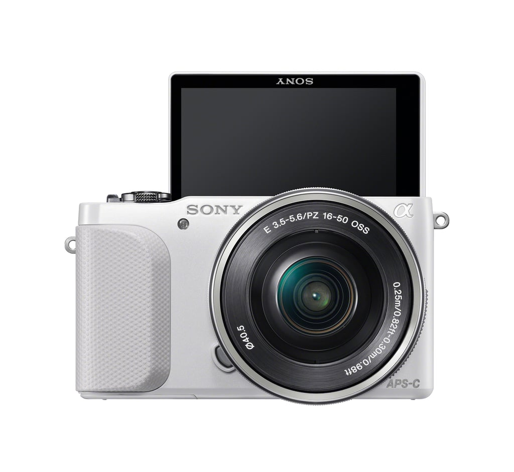 A front view of the Sony NEX-3N.