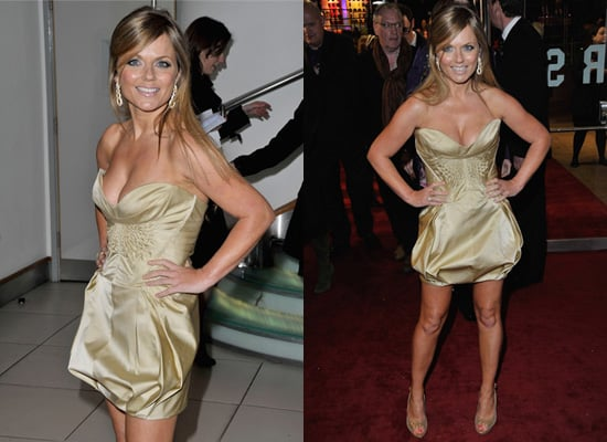Geri Halliwell in Gold at The Boat That Rocked Premiere