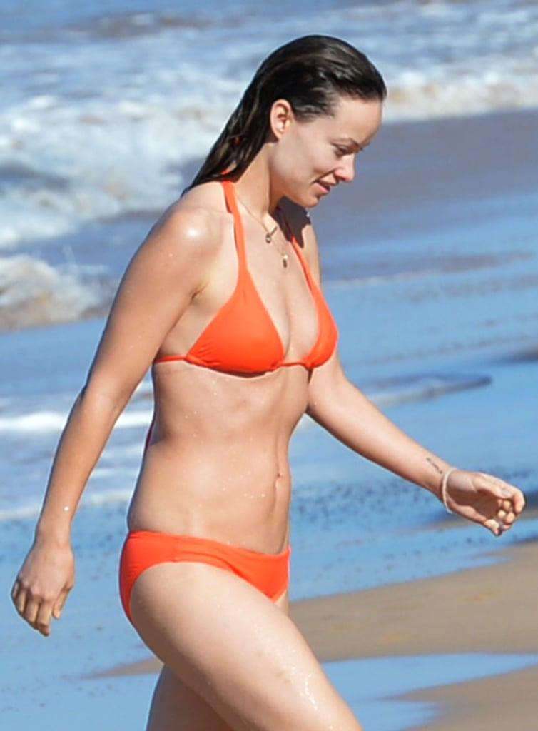 In 2015, Olivia Wilde soaked up the sun on the beach in Hawaii.