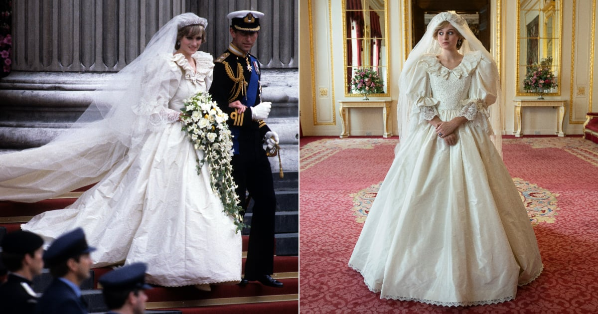 Princess Diana's Wedding Dress in The Crown Season 4 ...