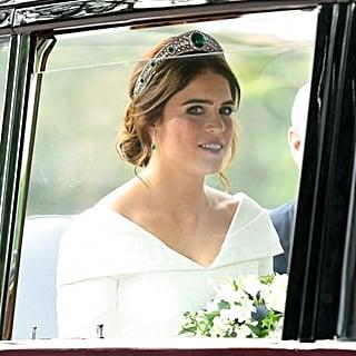 فستان زفاف الأميرة يوجيني