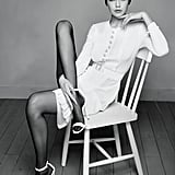 Gigi Hadid Wearing Chanel in Harper's Bazaar